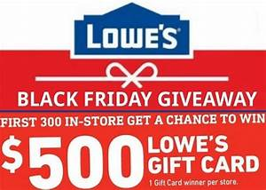 lowes black friday giveaway 2019 sweepstakesbible