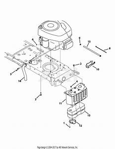 Mtd 13am772s000  2012  Parts Diagram For Engine