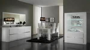 livingroom table sets bahut 3 portes tania laque blanc blanc metal