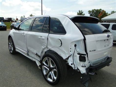 sell   ford edge sport navigation fwd repairable