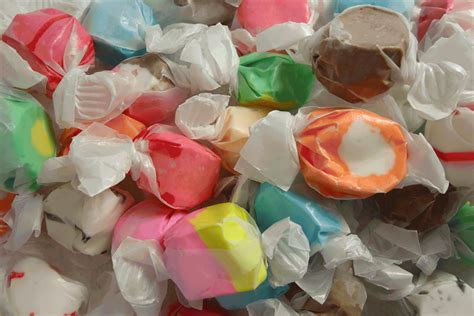 Hiving Out Salt Water Taffy