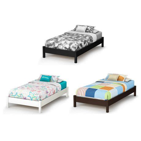 south shore soho twin 39 inch platform bed walmart ca