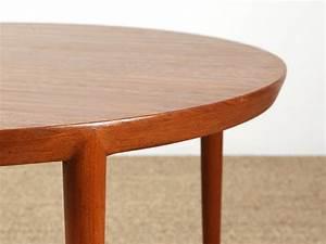 Table Basse Scandinave Ronde : table basse qui s 39 ouvre au milieu ~ Teatrodelosmanantiales.com Idées de Décoration
