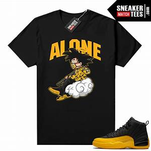 University Gold 12s Shirt Outfit Sneaker Match Tees