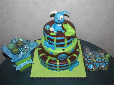 puppy themed baby shower puppy themed baby shower cakecentral