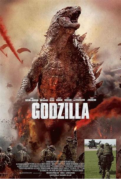 Godzilla Shutterstock Posters Terrifying Creative Helps Even