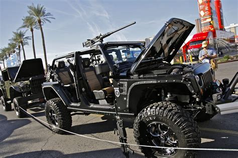 sema jeep yj xtreme outfitters jeep wrangler unlimited call of duty