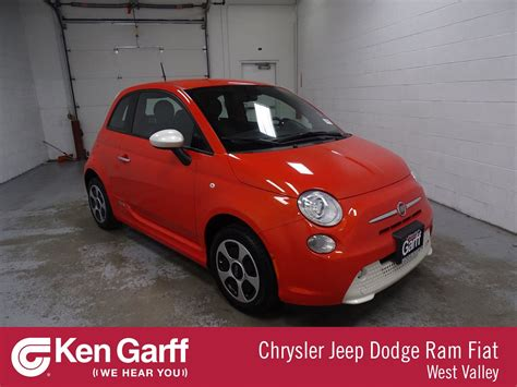 Fiat Pre Owned by Pre Owned 2015 Fiat 500e Battery Electric Hatchback