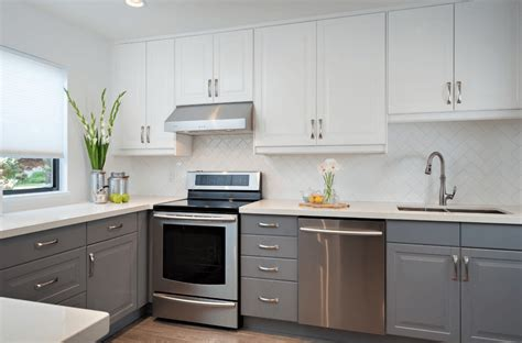 white kitchen cabinets with grey walls grey kitchen cabinets the best choice for your kitchen 2081