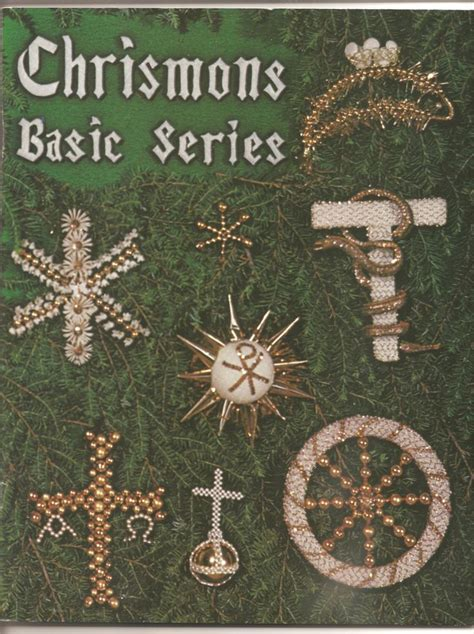 chrismons ornaments basic series ornaments  etsy