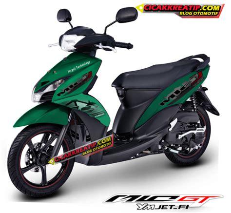 Modif Motor Mio Lama Merah by Modifikasi Motor Yamaha Mio J Dengan Menggunakan Stiker