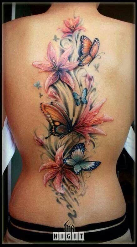 ideas  butterfly  tattoo  pinterest