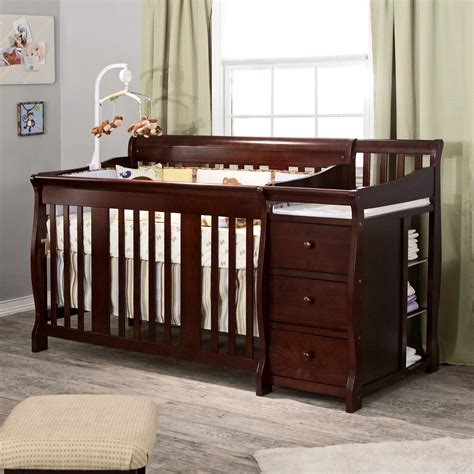 storkcraft tuscany crib storkcraft tuscany 4 in 1 convertible crib and changer 2575