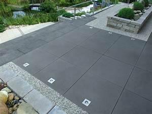 Terrassenplatten Reinigen Beton : greyline betonplatte terrassenplatten pflastersteine ~ Michelbontemps.com Haus und Dekorationen