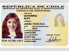 Chile Cédula de identidad