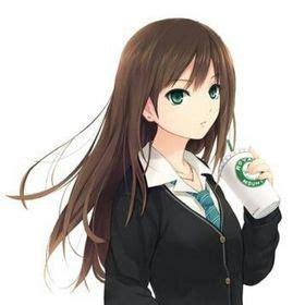 foto de 44 meilleures images du tableau Fille brune Anime mangas