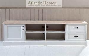 Meuble Tv Beige : meuble tv blanc et beige maison et mobilier d 39 int rieur ~ Teatrodelosmanantiales.com Idées de Décoration