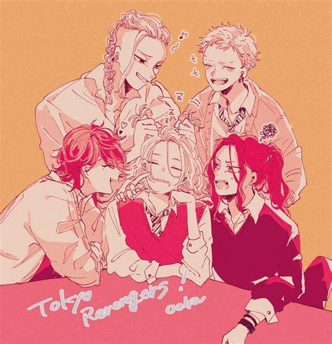tokyo revengers personnages de mangas