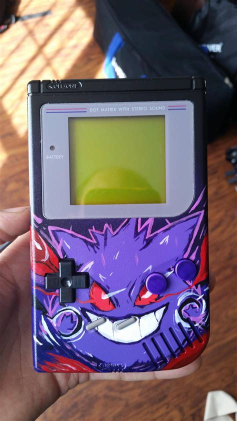 I Painted My Friends Gameboy Video Game Fun Pokemon