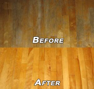 Buffing Hardwood Floors Before And After by Shiny Carpet Cleaning