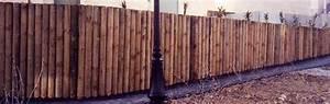 Panneau De Cloture En Bois : panneau bois cl ture cl ture ext rieur en bois rondino ~ Premium-room.com Idées de Décoration