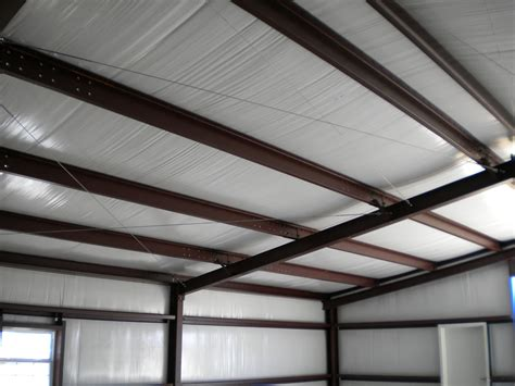 insulate metal shed steel shed roof insulation desk work
