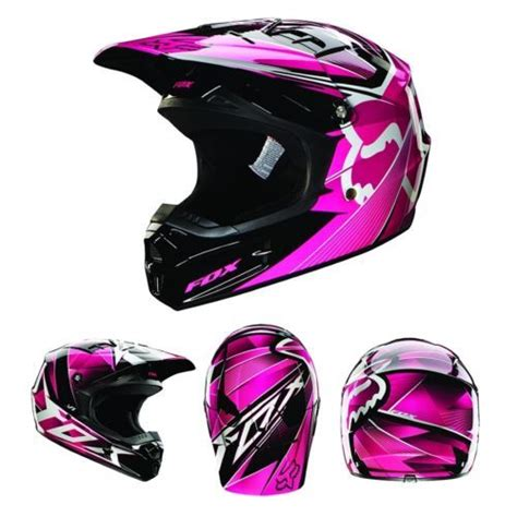 pink motocross helmets 2014 fox racing v1 radeon helmet pink 07132 170 all sizes