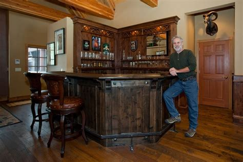 unique home bar designs style custom scottish pub bar by dan joseph woodworks