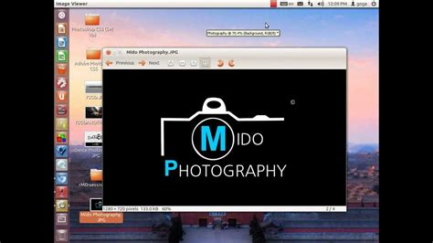 photoshop cs5 tutorial how to create your own logo for photography zxtech67 youtube