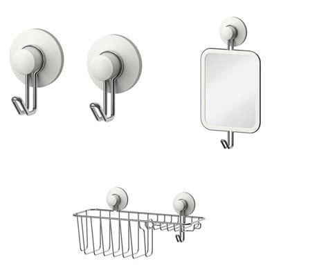 accessoire salle de bain ventouse ikea immeln series ventouse salle de bains accessoires crochets porte savon paniers ebay