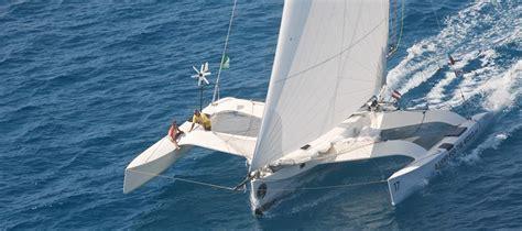 Trimaran Ocean Sailing by Ave Gitana Electric Racing Trimaran