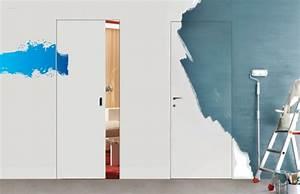 Innentüren Streichen Farbe : zimmert ren und w nde optisch verschmelzen lassen ton in ~ Michelbontemps.com Haus und Dekorationen