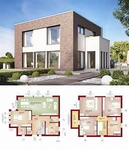 Modernes Haus Grundriss : moderne fassade einfamilienhaus wohn design ~ Orissabook.com Haus und Dekorationen