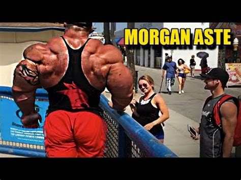 Real Life Giant Morgan Aste  Biggest Bodybuilder In The