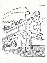 Coloring Steam Engine Pages James Printable Sheet Popular sketch template