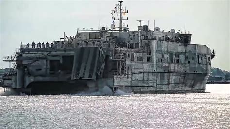 Catamaran Ship Navy by Usns Spearhead Giant Navy Catamaran Returns From