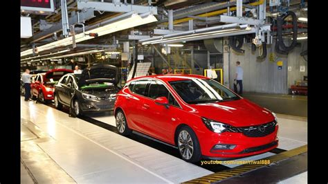 Opel Productions by New Opel Astra K Production In Gliwice Qhd