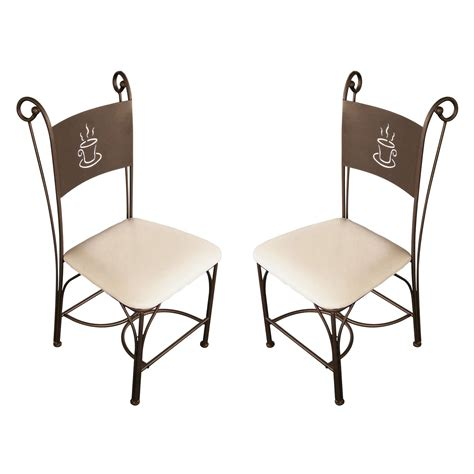 chaises de cuisine galette pour chaise fer forge advice for your home