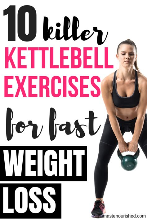 kettlebell exercises weight loss workouts kettlebells lose activation butt fitness exercise powerful ways through quick losing
