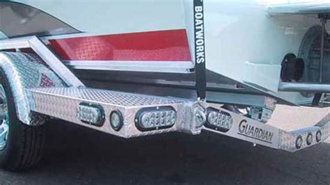 Led Boat Trailer Backup Lights by Guardian Aluminum Boat Trailers From Rogue Jet Rogue Jet