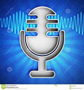 Microphone Icon Stock Photos - Image: 34989363
