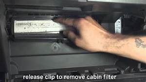 How To Replace Cabin Air Filter Chevy Cruze