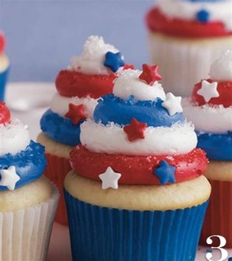 4th of july cupcake 4th of july cupcakes yummy cupcake pinterest