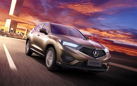 acura cdx could migrate from china as luxury subcompact