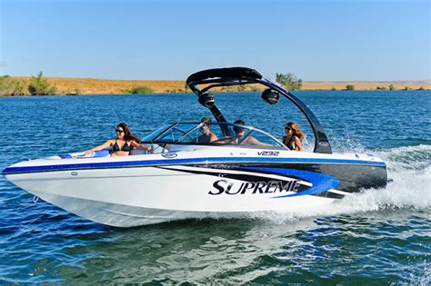 Supreme Boats by Research 2014 Ski Supreme V232 On Iboats