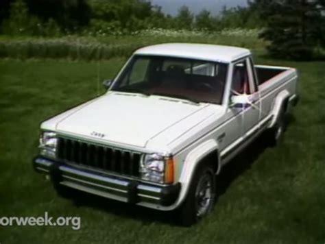 1986 jeep comanche 4x4 imcdb org 1986 jeep comanche 4x4 mj in quot motorweek 1981