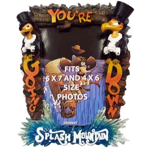 wdw store disney picture frame splash mountain