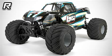 Red Rc  Rc Car News » Losi 15 Monster Truck Xl 4wd Rtr