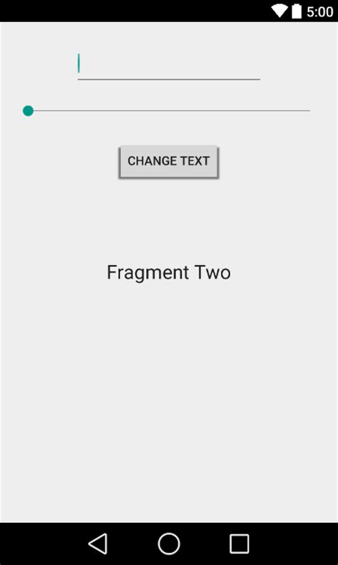 using fragments in android studio an exle techotopia