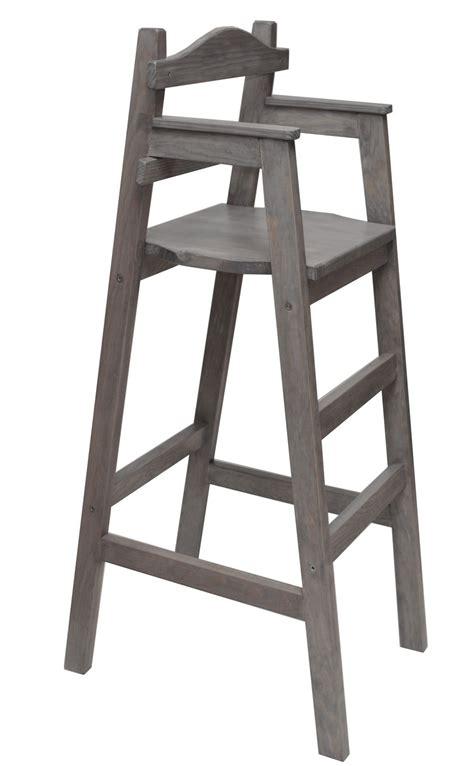 table et chaise pour enfants chaise haute enfant dahut pour table bar teintée grise